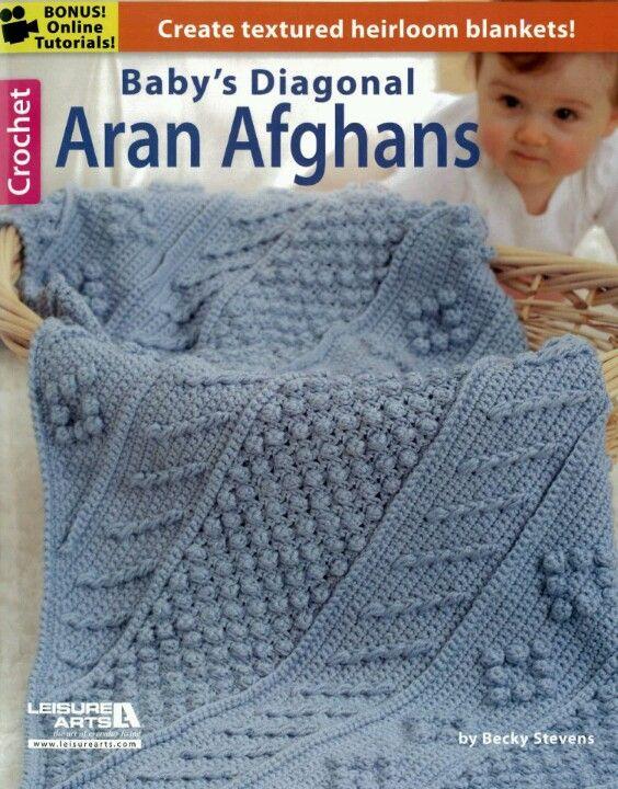Aran Baby Blankets Crocheted Pretties Pinterest Blanket And