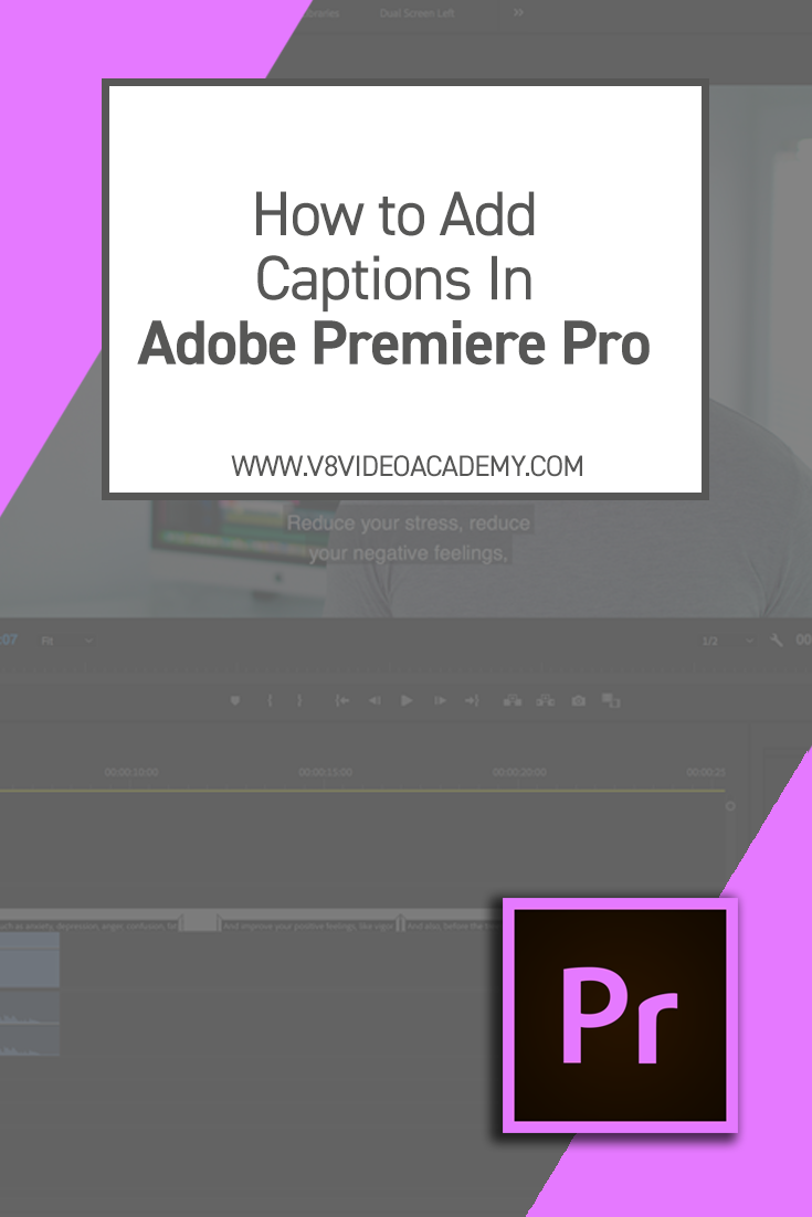 In this video i show you how to add captions sometimes known as in this video i show you how to add captions sometimes known as subtitles ccuart Choice Image
