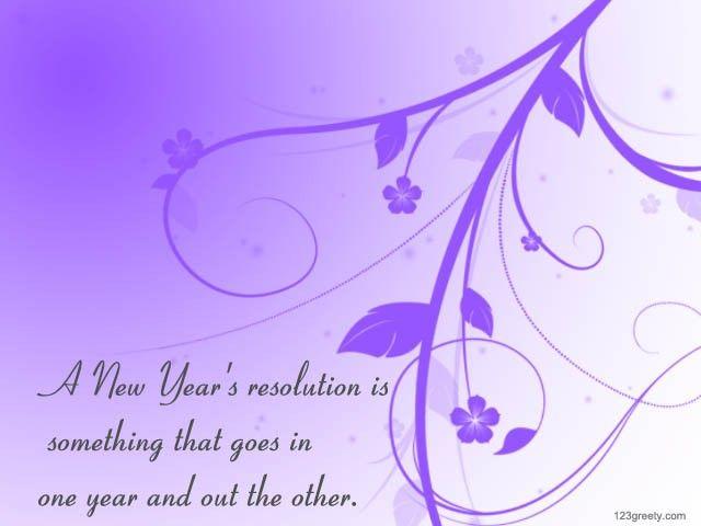 hand painted purple flowers new years resolution quotes card 2015 resolution sayings 2015 new year quotes