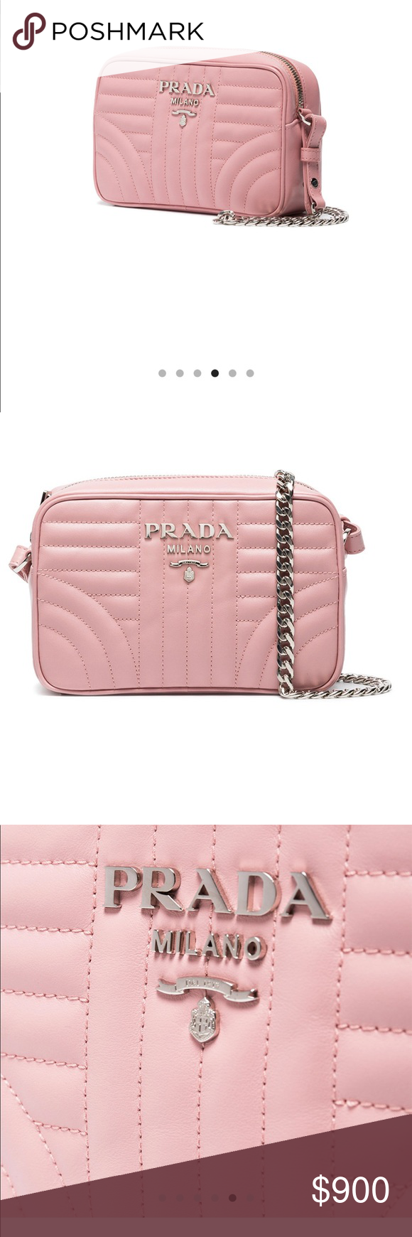 f19b31779fcf Prada diagramme cross body bag (coming soon) Brand new with tag and  authenticity card