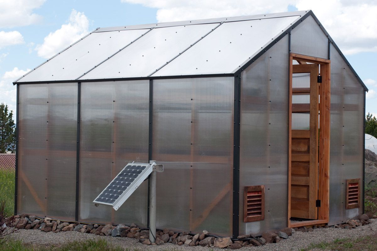 Solar Powered Greenhouse Fan For Homesteading Greenhouse Greenhouse Greenhouse Plans Solar Greenhouse