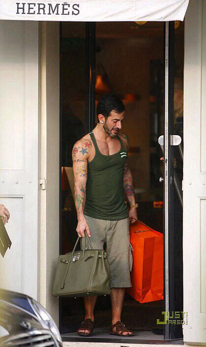 e68ab318534c Marc Jacobs and his Birkin  )