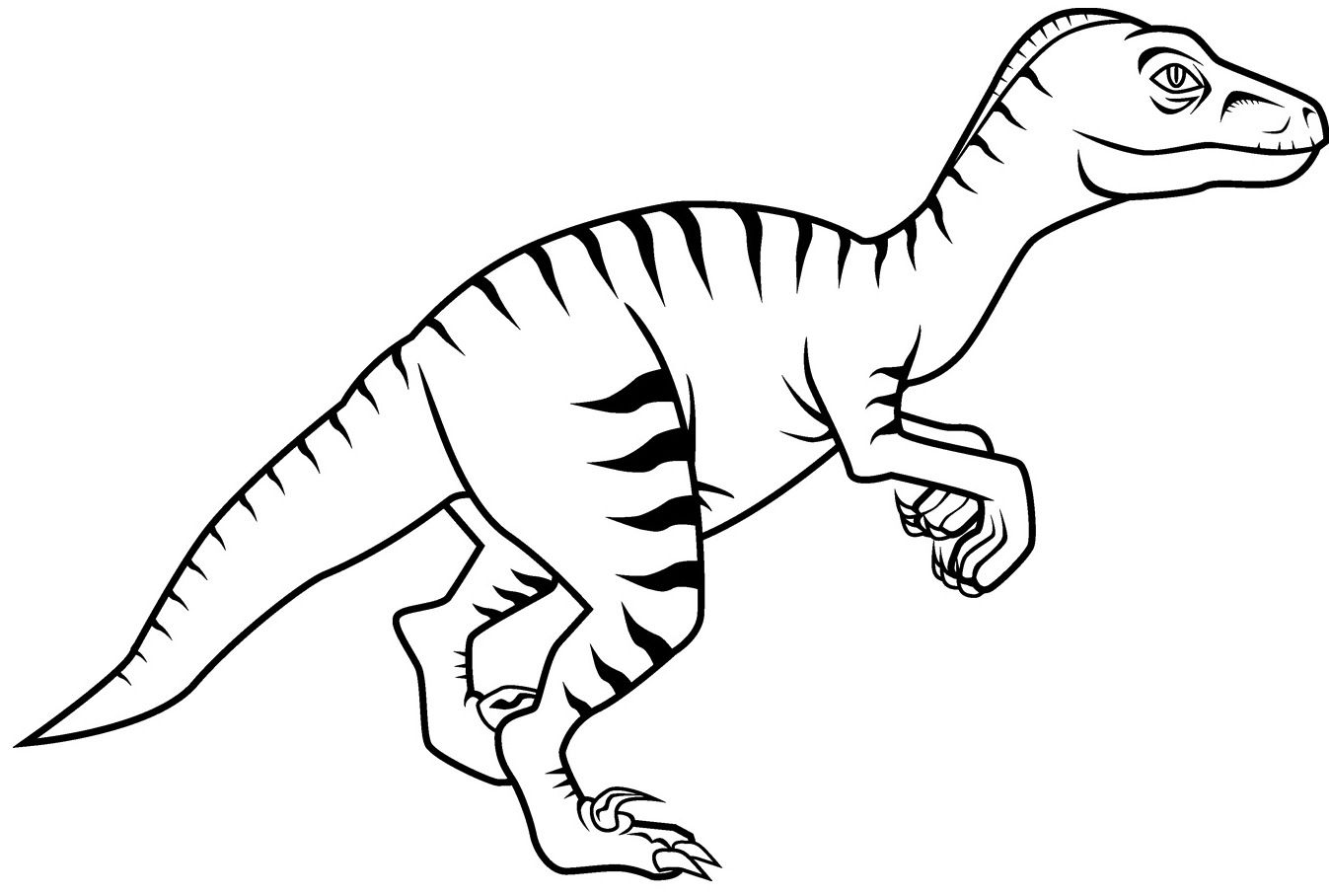 Dinosaur Coloring Pages Image By Coloringsworld On