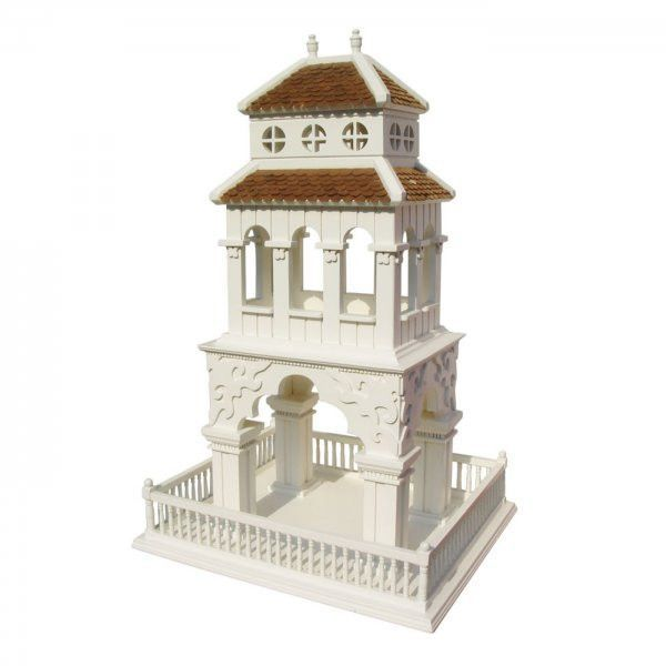 "Summer Palace Feeder (White) (22""H x 14""W x 12""D)"