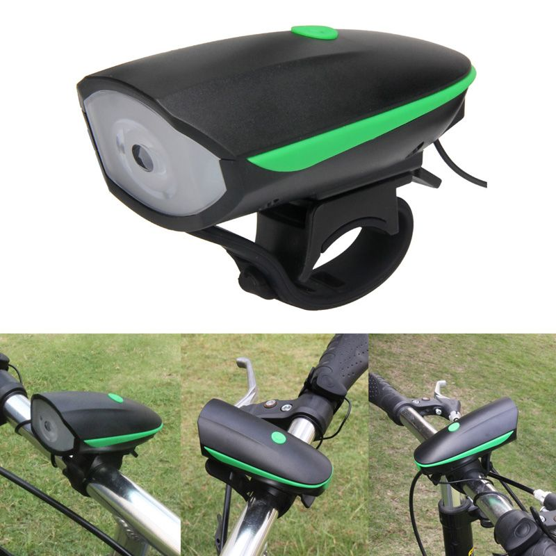 2 In 1 Rechargeable Bicycle Front Trail Frame Led Lights Bike