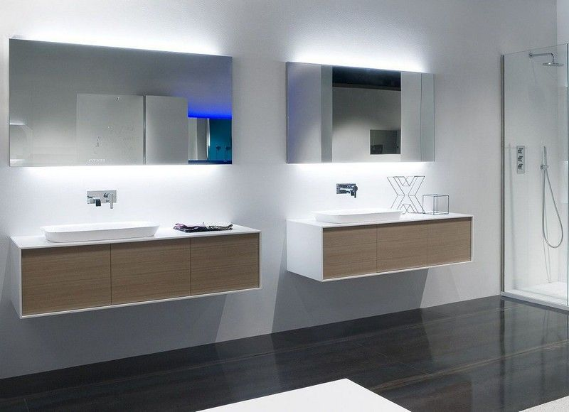 Miroir Salle De Bain Lumineux Et Eclairage Indirect En 50 Idees