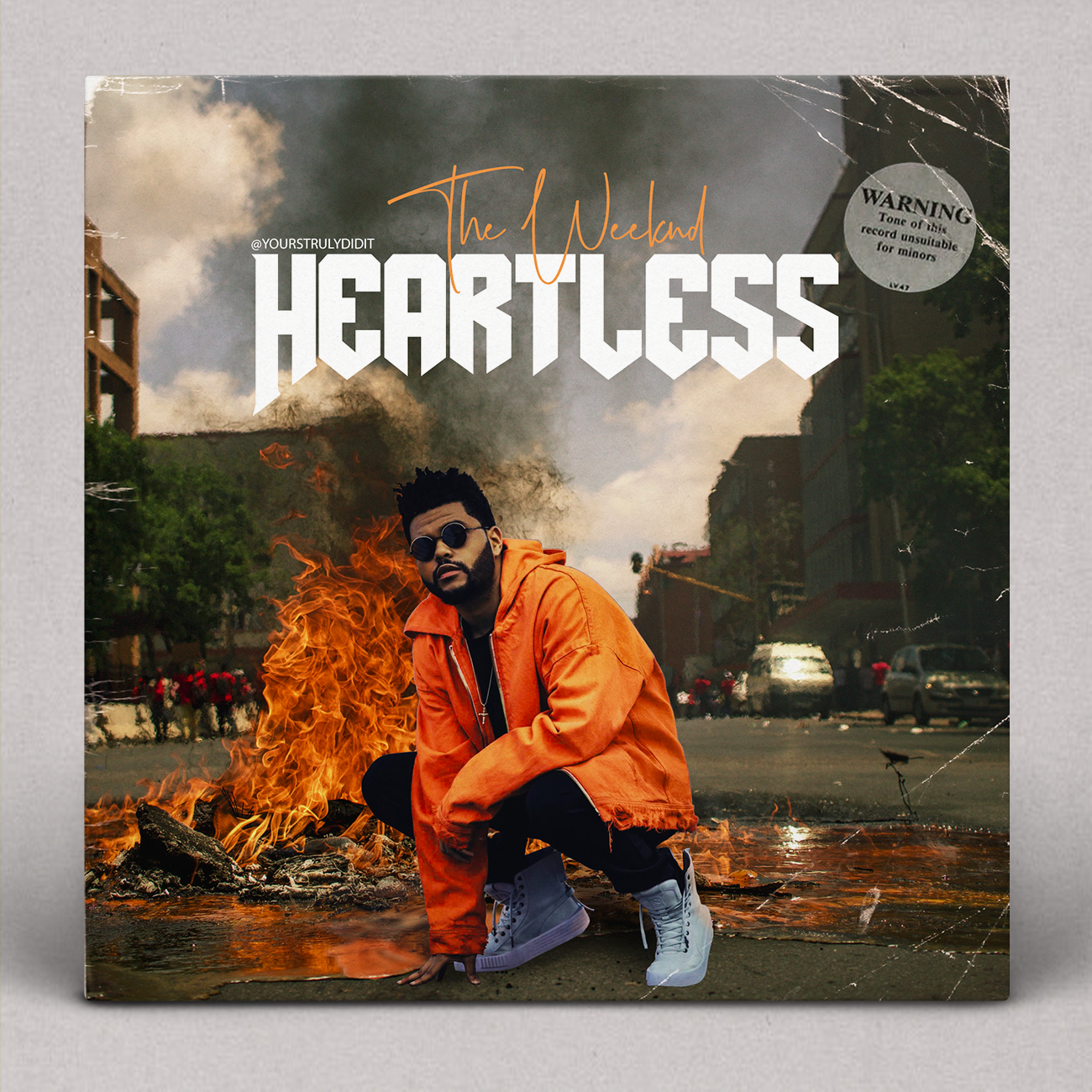 The Weeknd Heartless The weeknd, Album covers, Vsco