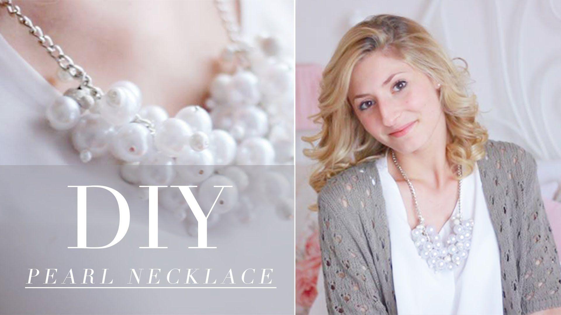 DIY- pearl necklace ♥
