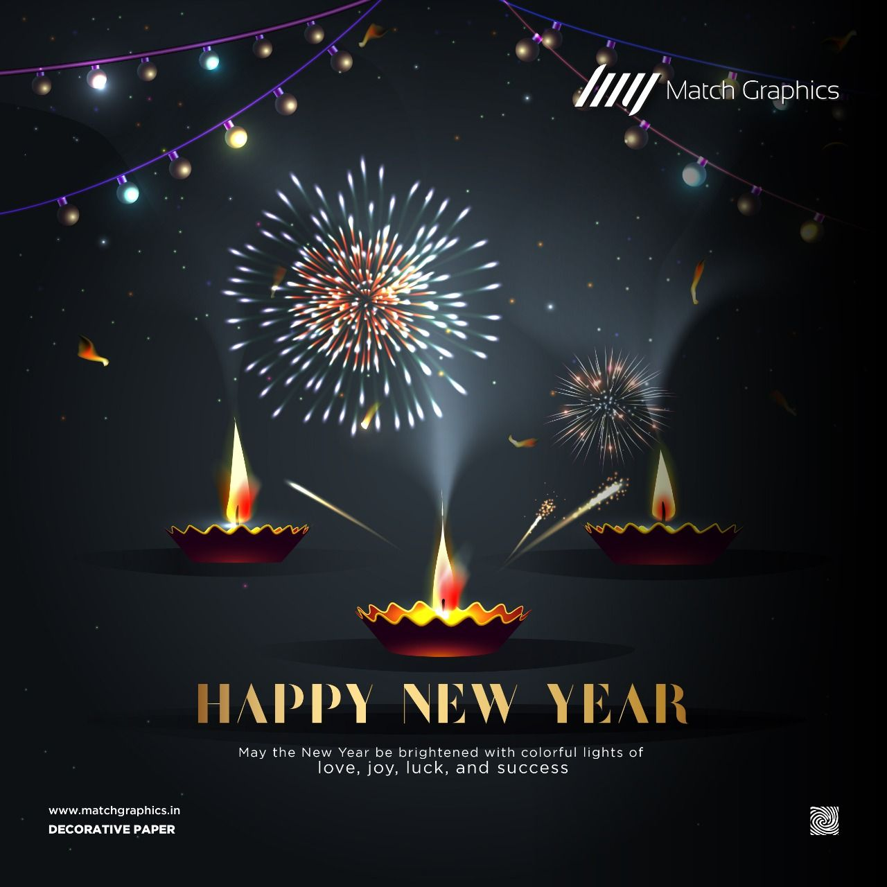 May The New Year Be Brightened With Colorful Lights Of Love Joy Luck And Success Happy New Year Matchgr Happy New Year India Happy New Year Happy Diwali