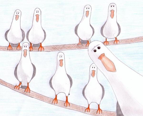 finding nemo seagulls by lieblingslemming on deviantart gift