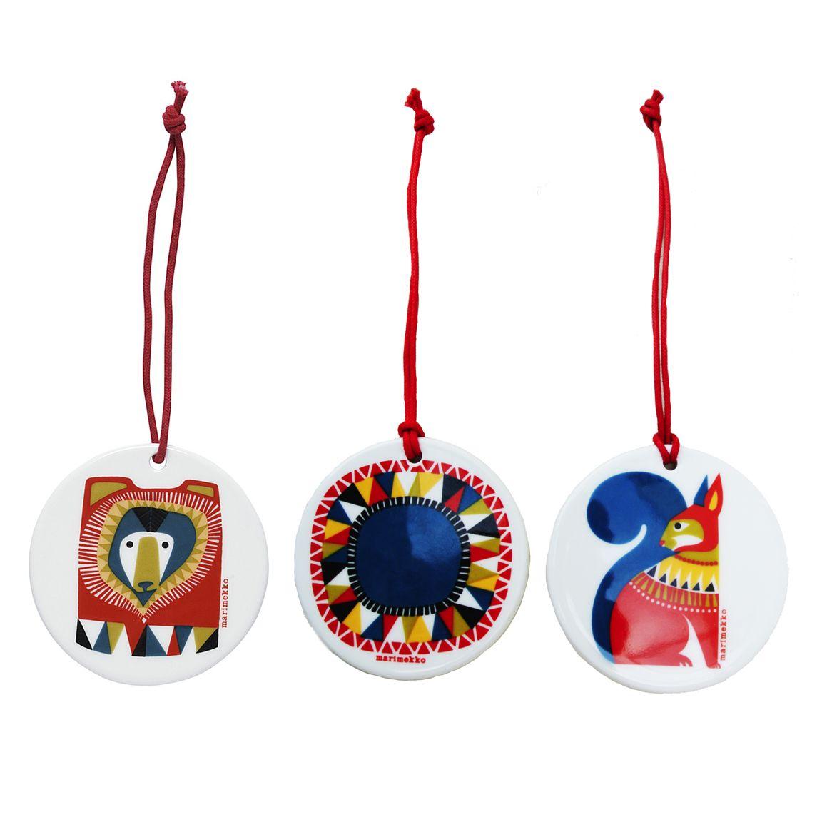 Marimekko Lamppupampula Holiday Ornament : Huset Shop