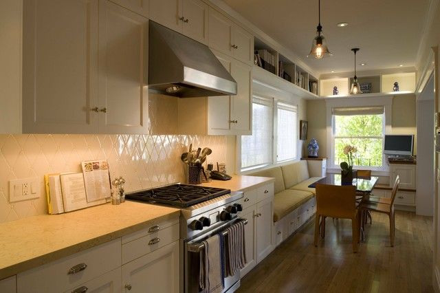 Galley Kitchen Breakfast Bar   Google Search