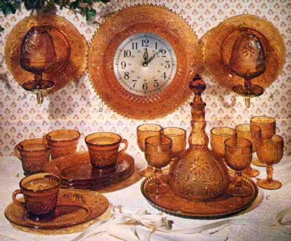 Sandwich - Tiara in 2021 | Amber glassware, Vintage ...