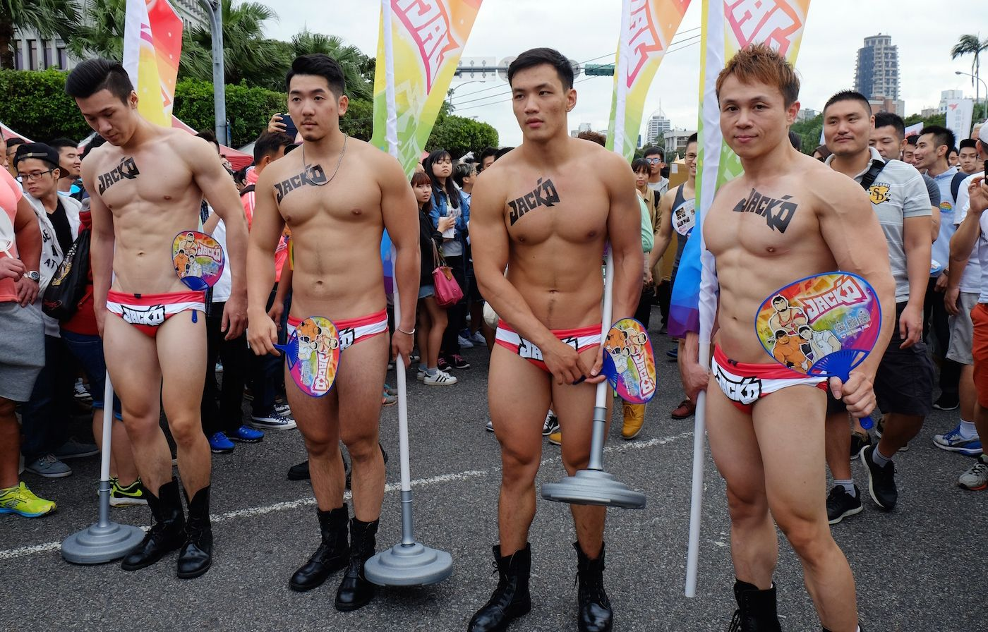 Taiwan is so gay today