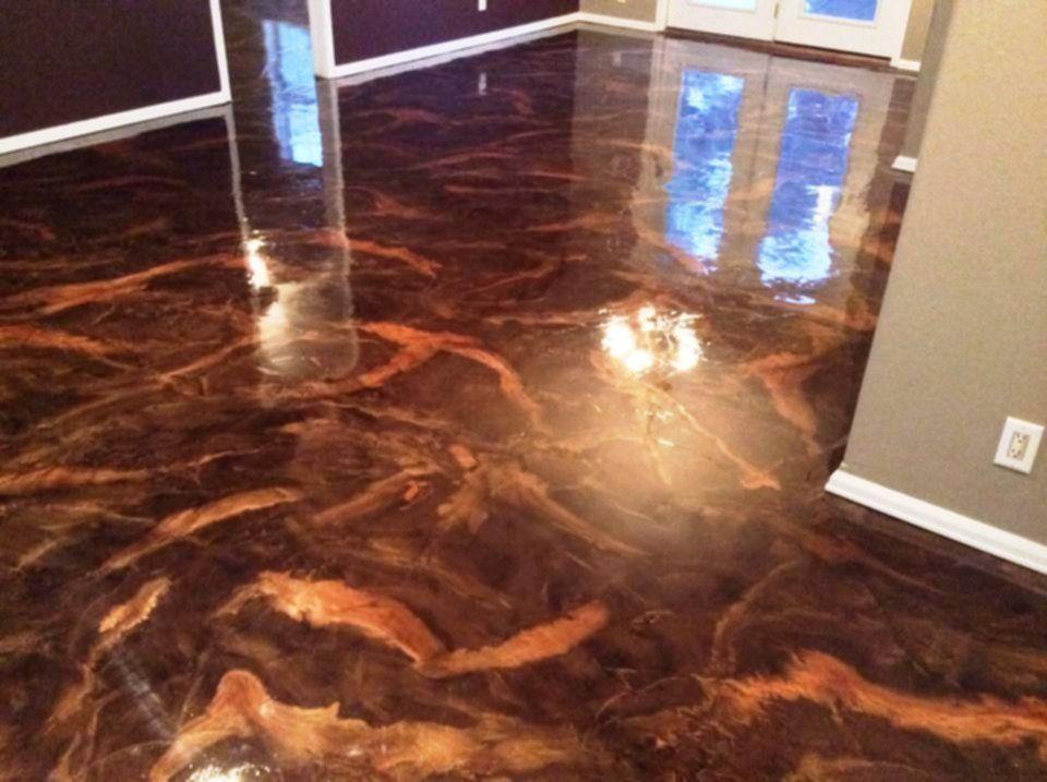 Metallic Epoxy Floor Flooring