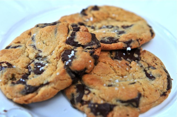 Best Chocolate Chip Cookies Ever (with sea salt!)