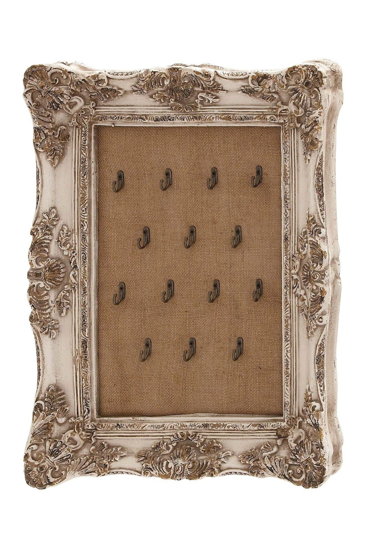 Brown Baroque Burlap Jewelry Hanger Frame By Uma On @Hautelook