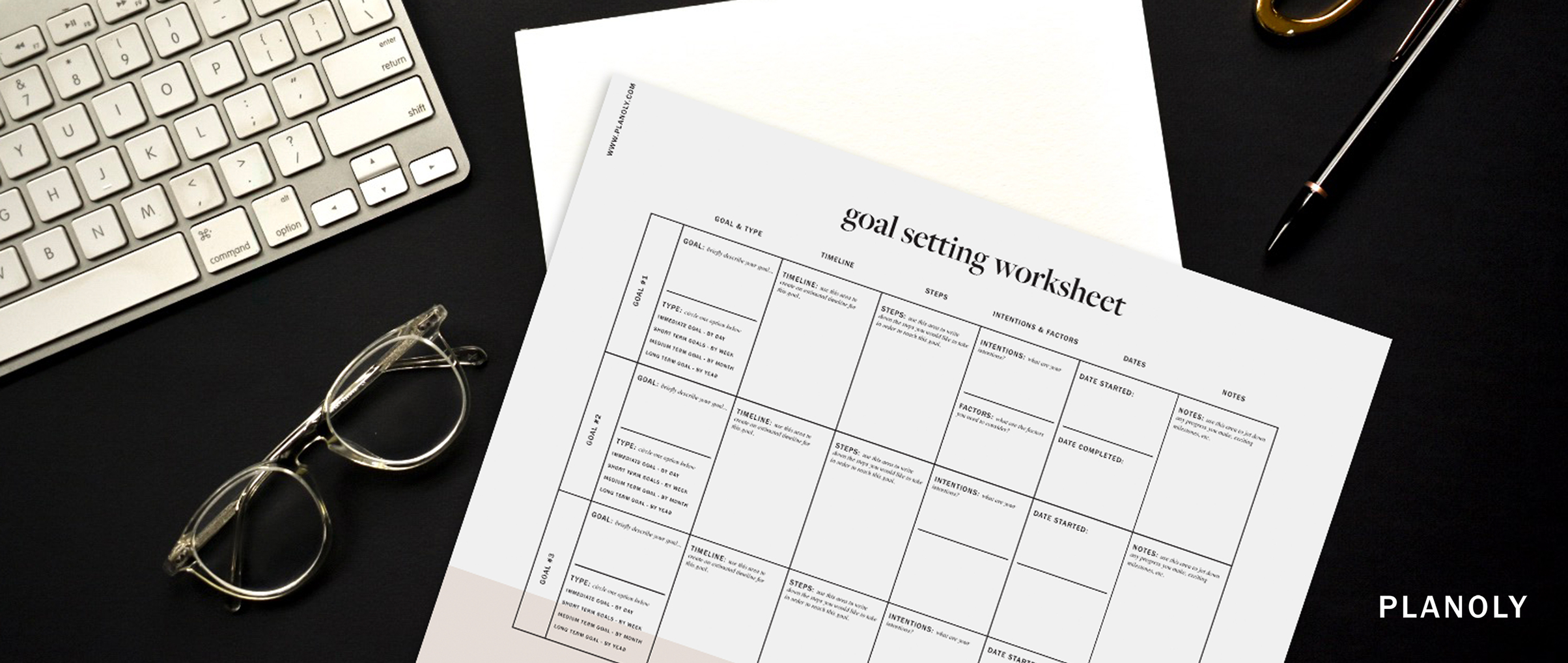 Influencer Goal Setting Worksheet