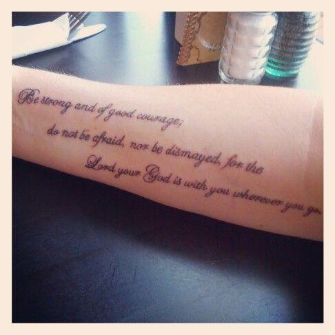 No Fear Joshua 19 1 Tattoos T Rib Cage Tattoo And