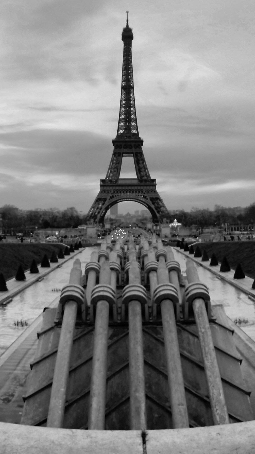 Eiffel Tower Paris Black White Hd Wallpaper Iphone Ololoshenka