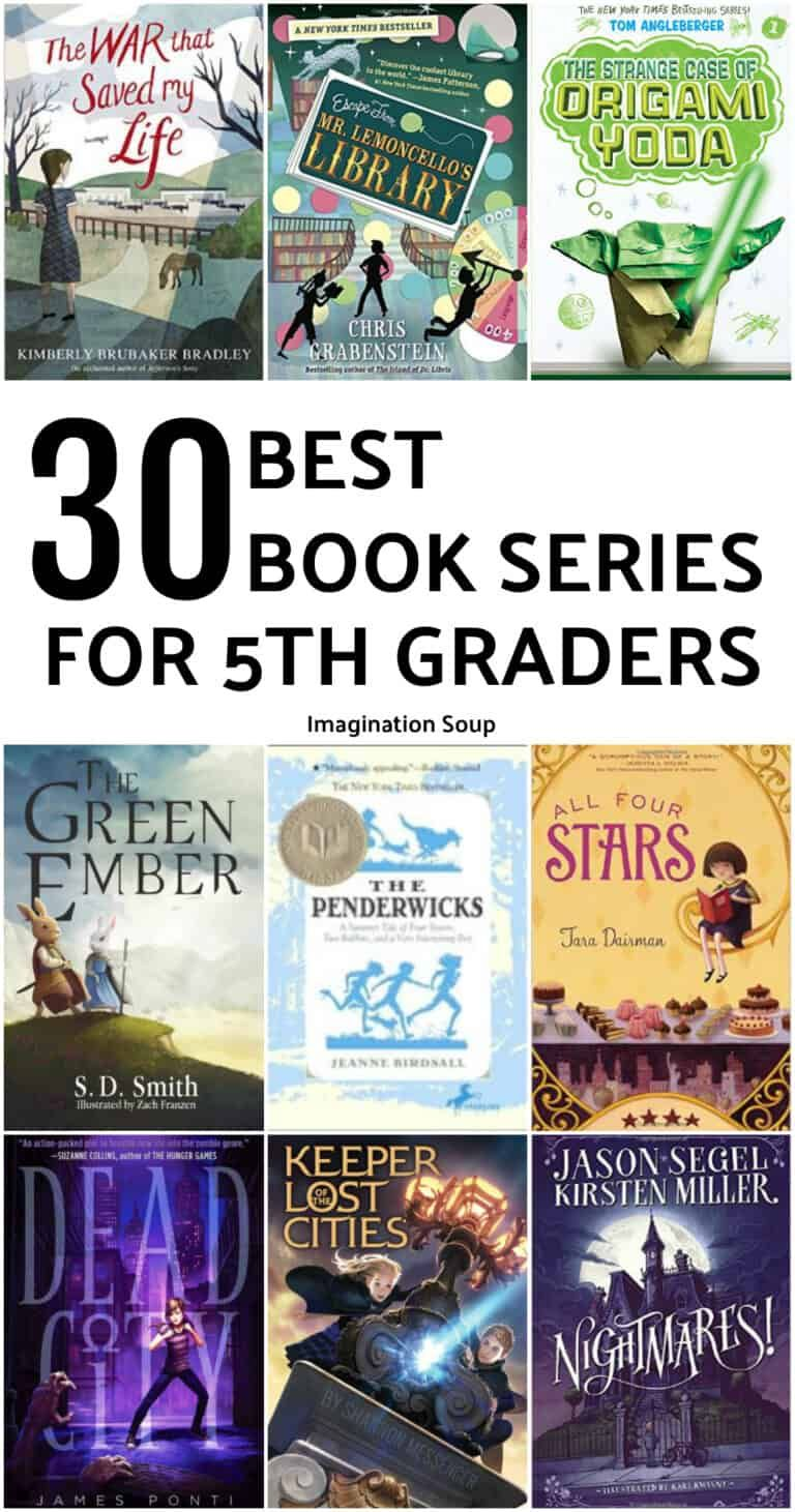 12 Book Series for 12th Graders 12 Year Olds   Imagination Soup ...