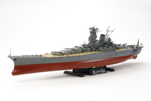 Tamiya-Model-kit-1-350-Japanese-Battleship-Yamato | Boat & Ship ...