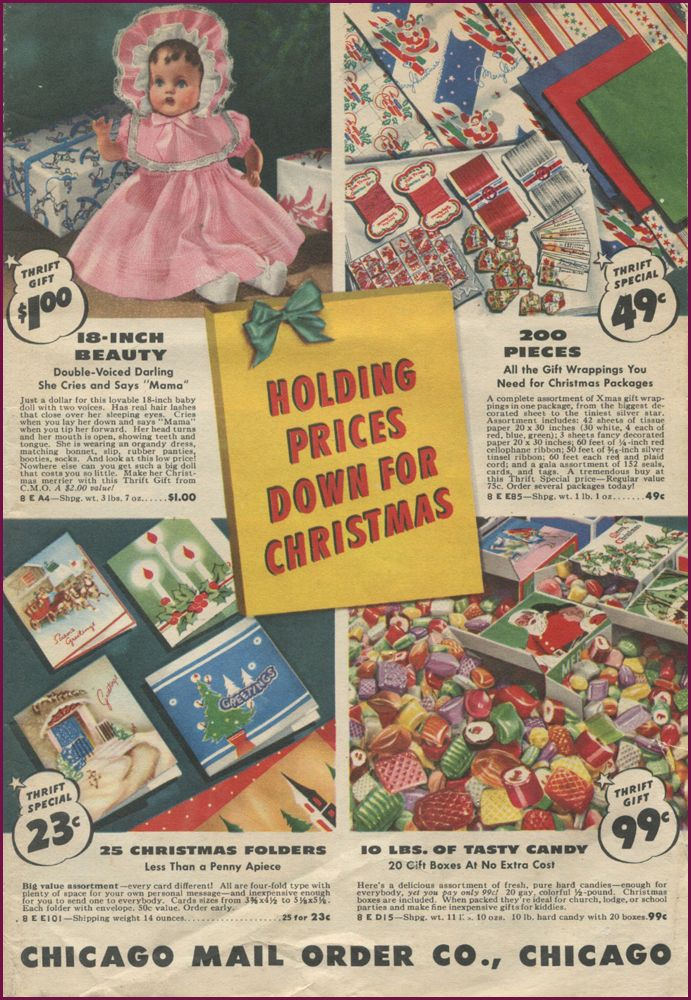 Chicago Mail Order Christmas 1941 | Christmas catalogs ...