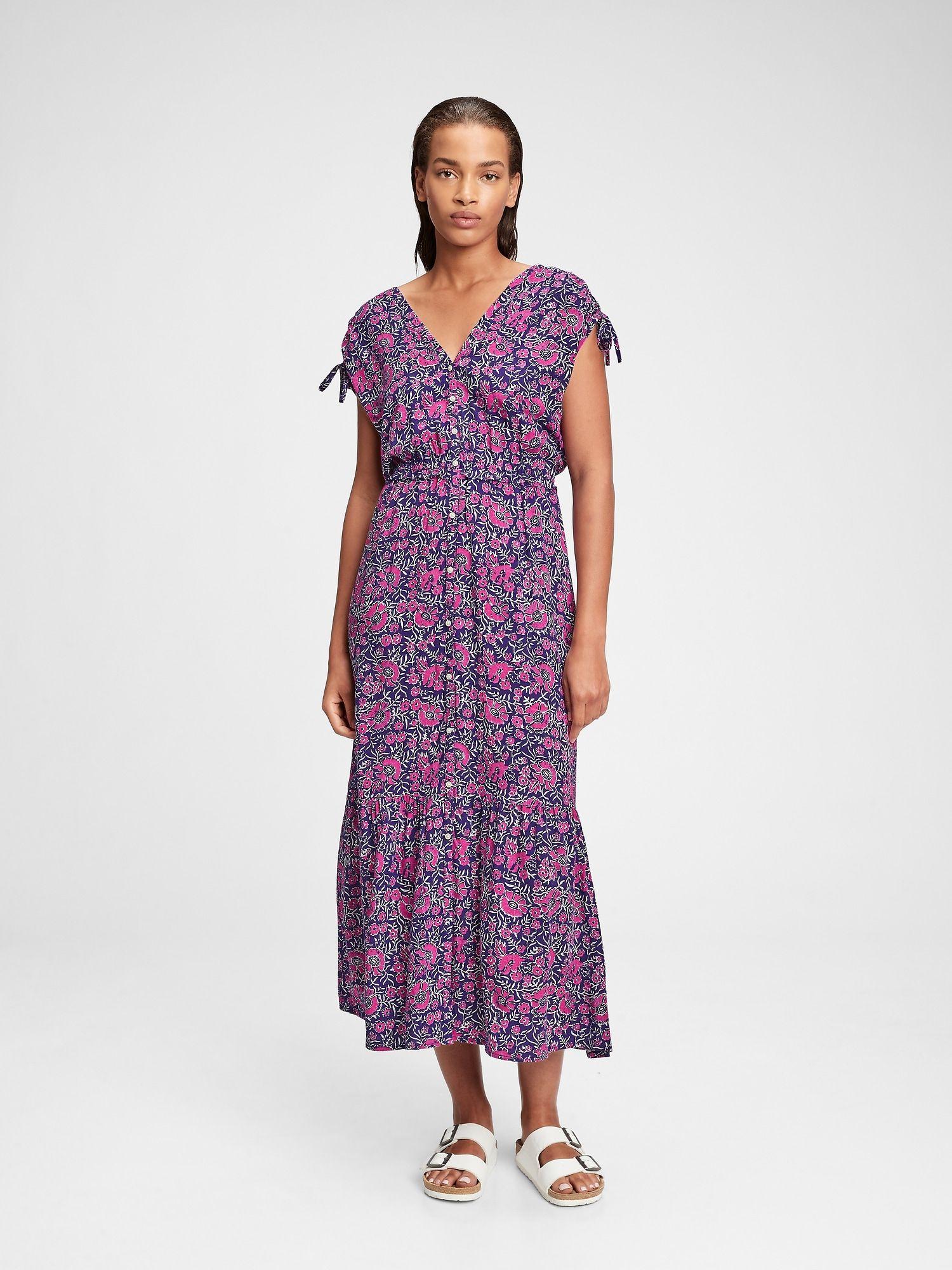 Ruched Shoulder Maxi Dress In 2021 Shoulder Maxi Dress Maxi Dress Dresses [ 2000 x 1500 Pixel ]