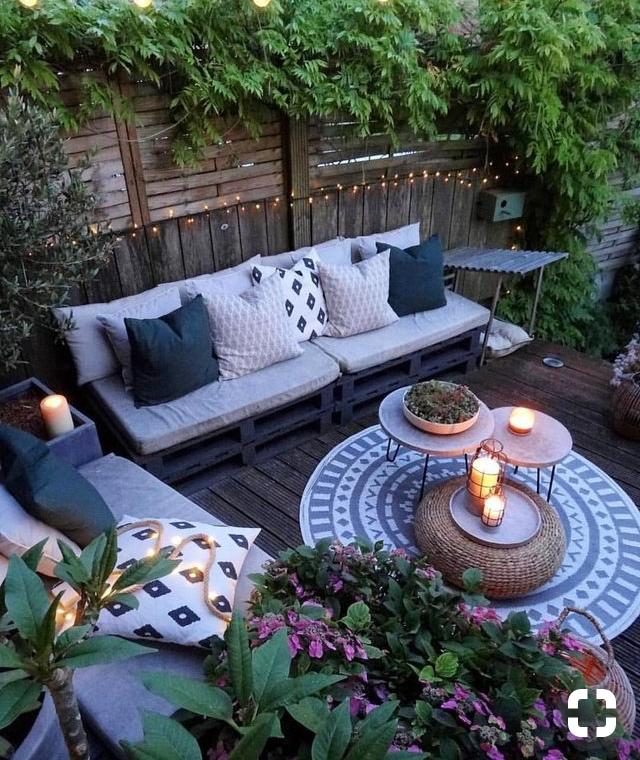 Pin By Sabrina Baver On Random Home Decor Backyard Decor Backyard Patio Designs Cozy Backyard
