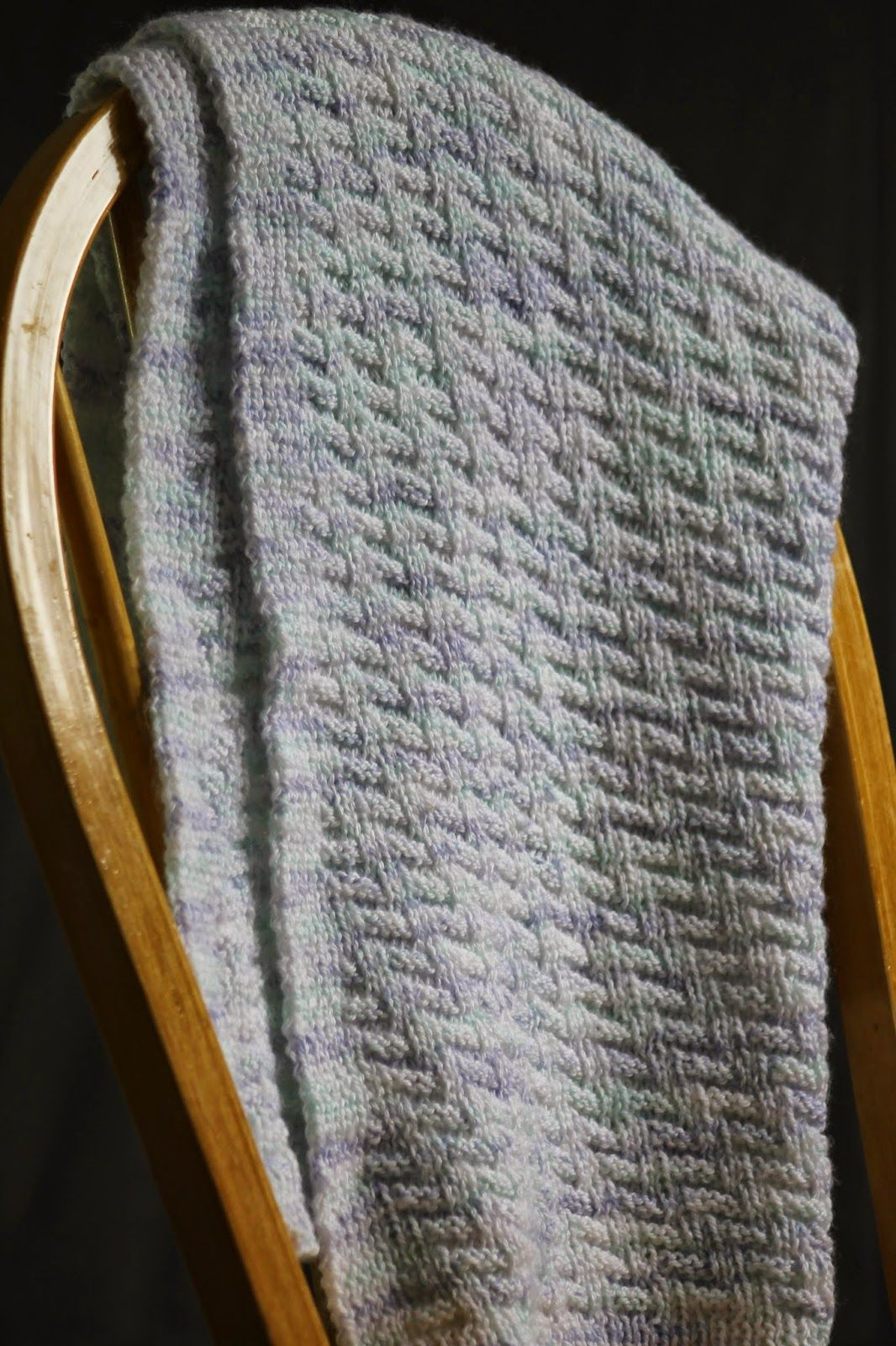Rib & Welt Baby Blanket By Gretchen Tracy - Free Knitted Pattern ...