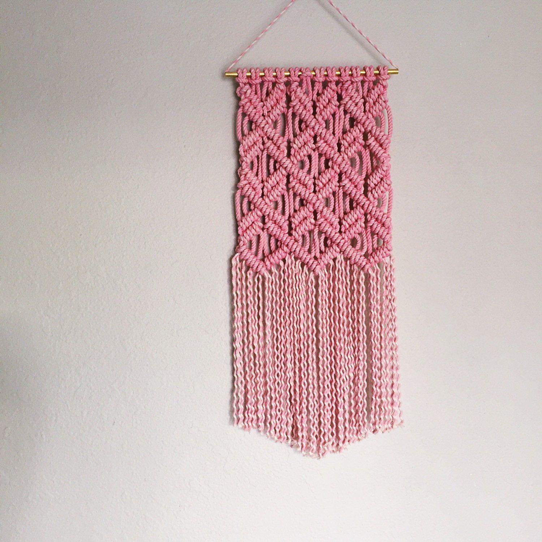 New macrame pattern available now textile d pinterest - Tapices de macrame ...