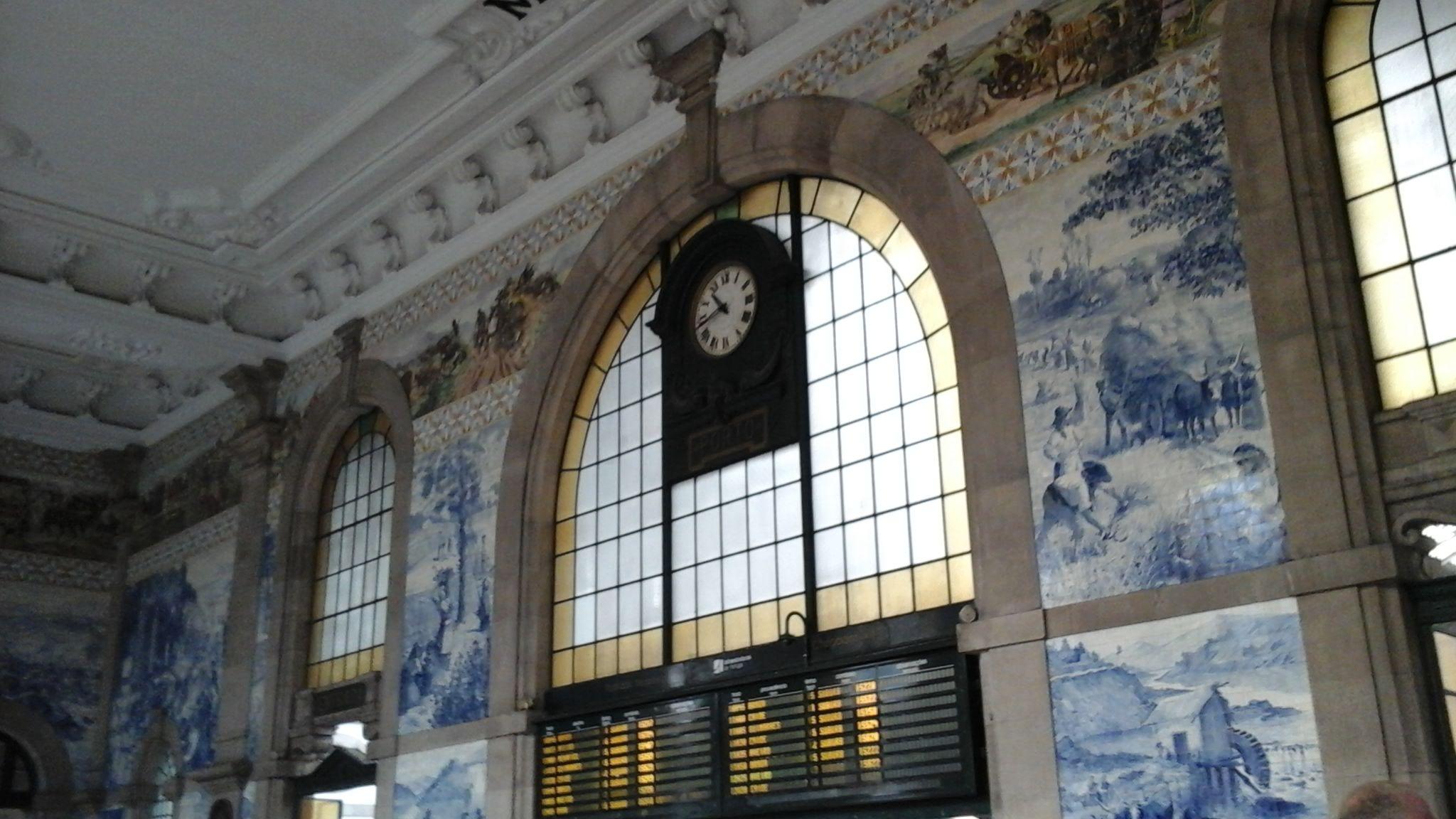 En ruta por... Oporto. Azulejos de la estación ferroviaria de San Bento