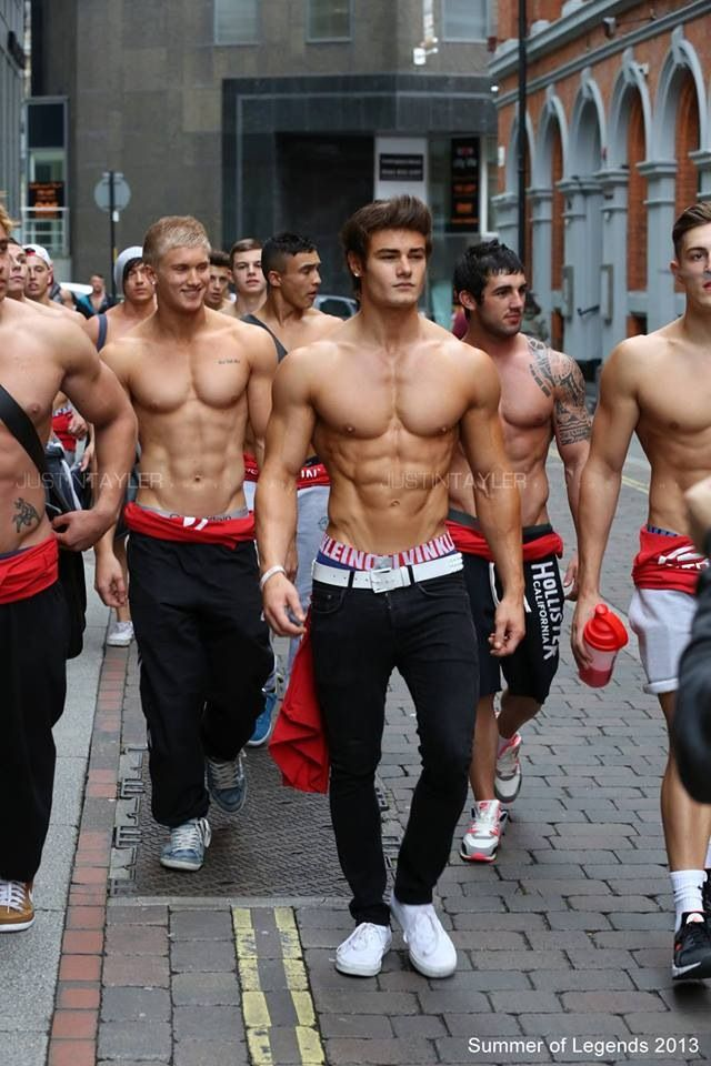 Hot muscle gay list