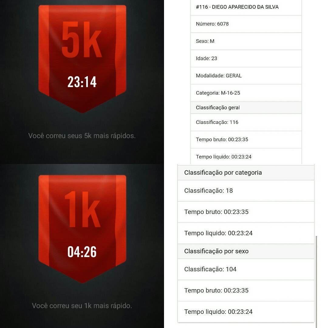 Missão cumprida e meta alcançada consegui fazer meus 5k mais rápidos. Agora continuar treinando e baixar ainda mais esse tempo.  #corridaderua #corrida #runningtime #running #run #runner #sesi #jundiai #5k #5km #corridanoar #programafolego  Keep pushing Primeira de muitas que virão. by diego_silva92