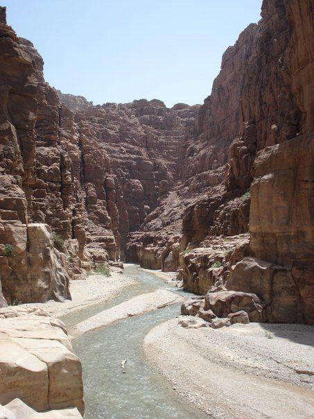 Wadi Mujib , Jordan.