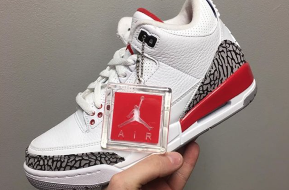 hot sale online a1ab9 49ac9 Air Jordan 3 Hall Of Fame (Katrina) Releasing Next Month The Air Jordan 3