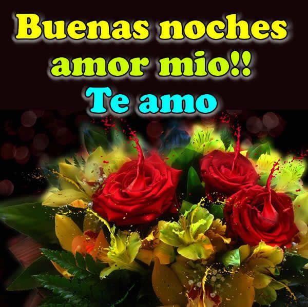 Fotos De Rosas Rojas Y Amarillas Buenas Noches Amor Mio Buenas Noches Frases Buenas Noches