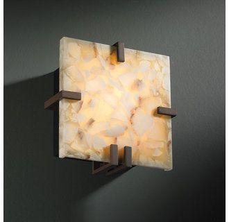 Justice Design Group Alr 5550 Dbrz Dark Bronze Alabaster Rocks 8 5 Ada Compliant Wall Sconce In 2020 Wall Sconces Bronze Wall Sconce Wall Lights