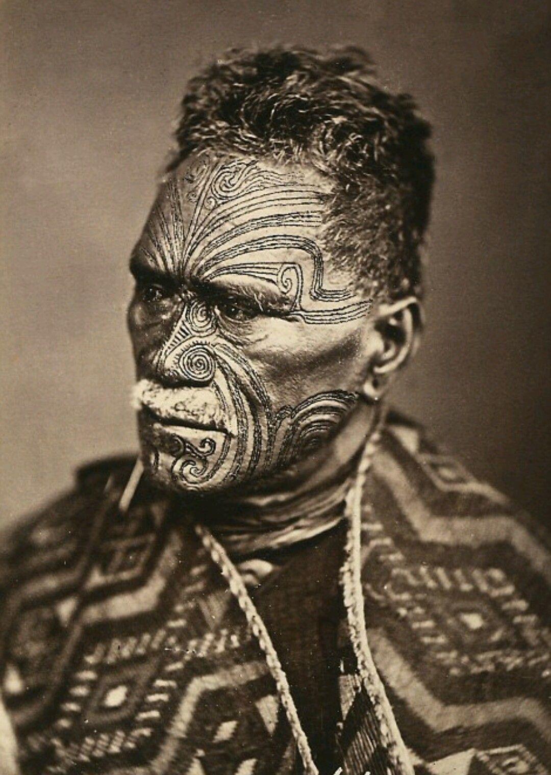 Maori Man Rostros Pinterest Rostros - Tribus-maories