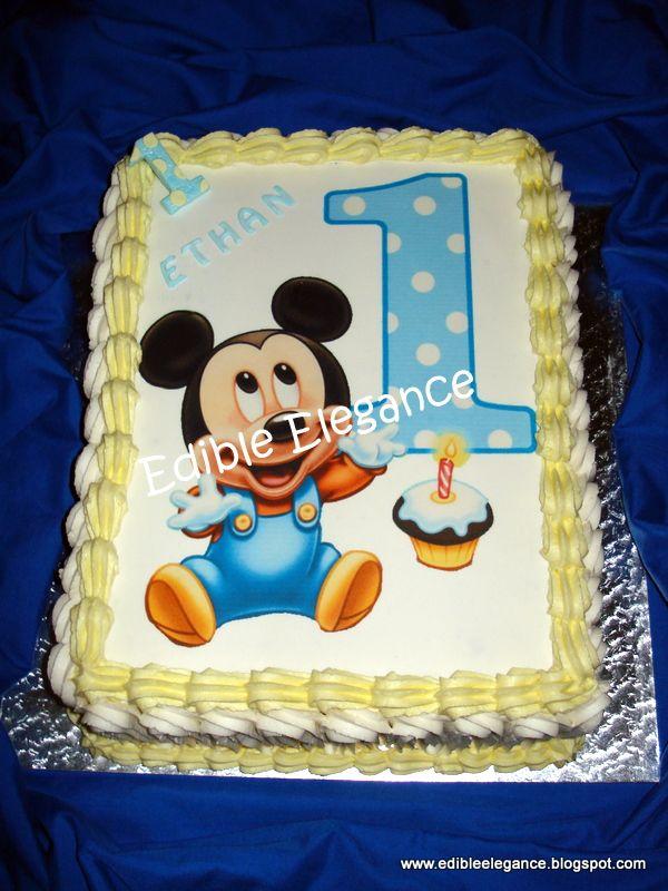 Image Cakes Compleanno Di Mickey Torte Di Compleanno Compleanno