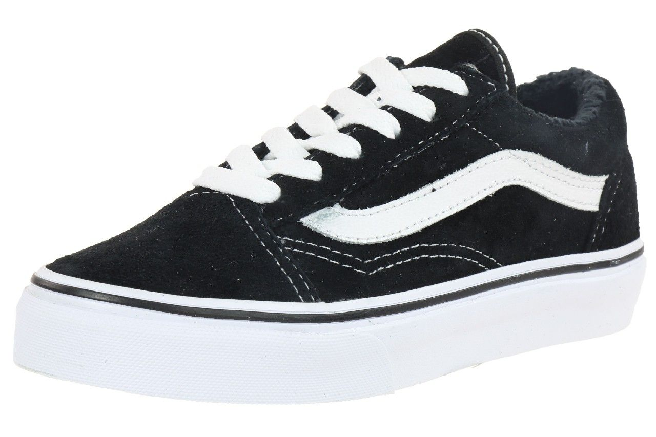 VANS Old Skool Classic Sneaker Kinder Winter Schuhe Kids gefüttert ...