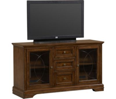 Bedrooms Del Ray Media Console 60 Inch Havertys Furniture