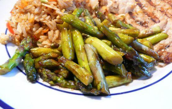 Asian Inspired Asparagus Recipe Asian Asparagus