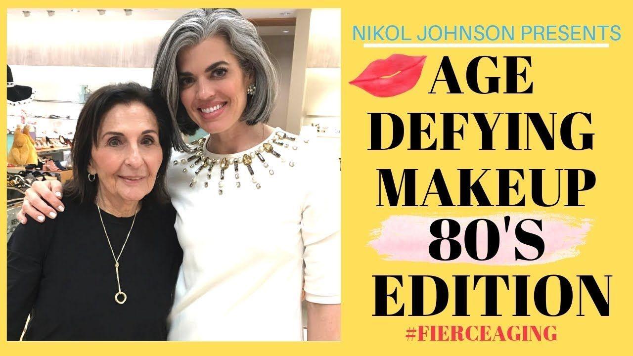 AGE DEFYING MAKEUP 80'S EDITION Nikol Johnson