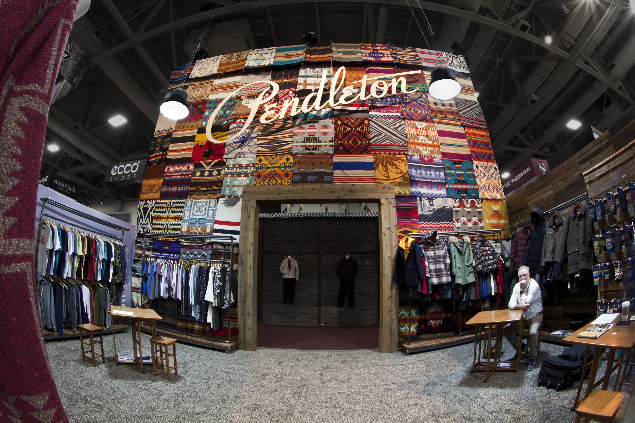 Pendleton Outdoor Retailer 2016 Exhibit Tradeshow Booth