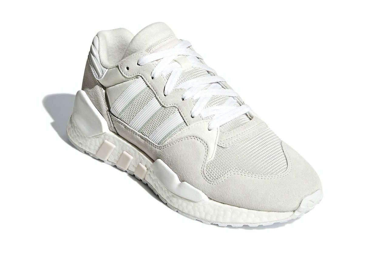 new concept b0822 0ae42 adidas ZX 930 EQT BOOST White   Grey Colorway release date sneaker info  purchase online price drop
