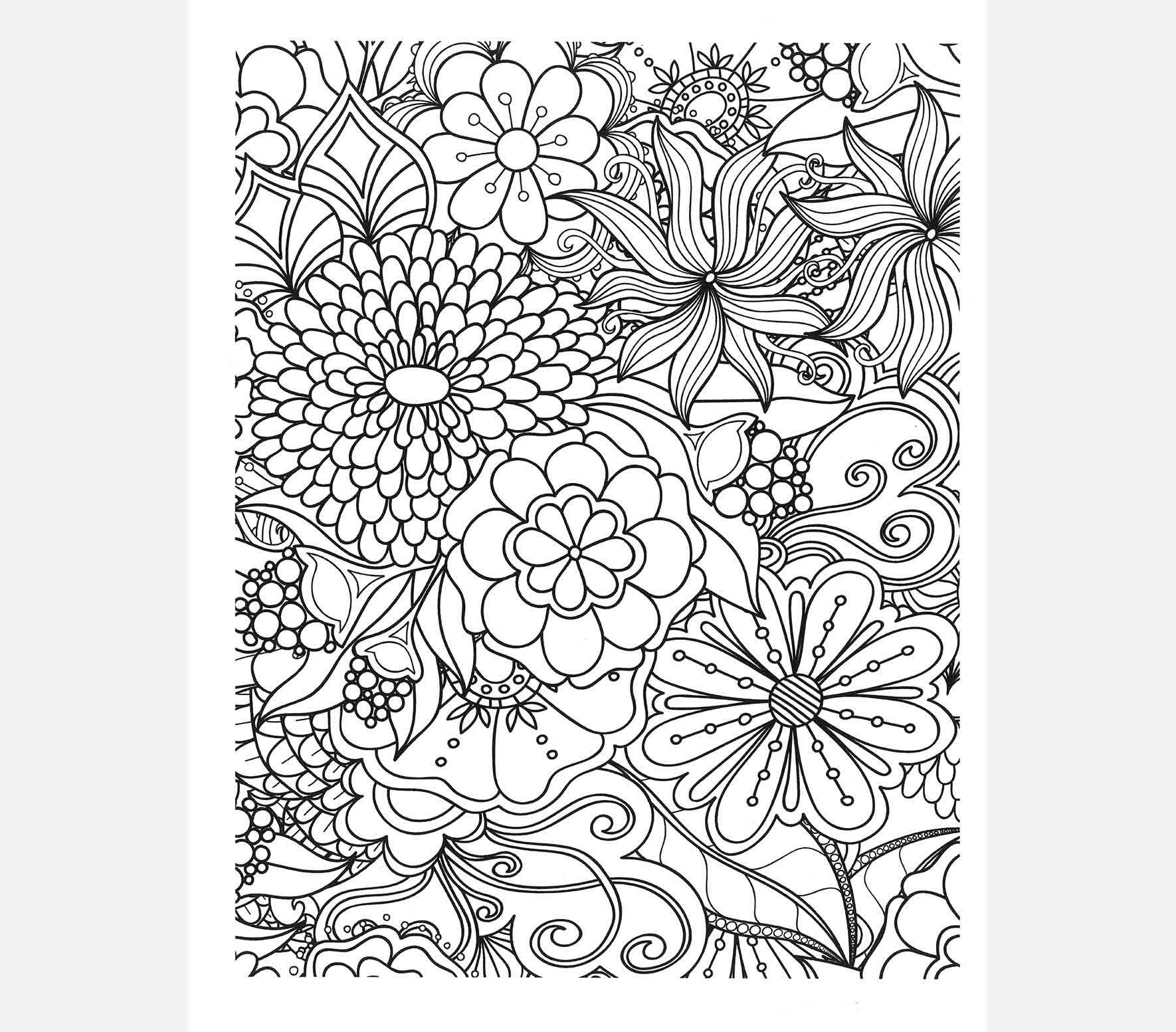 Too Blessed To Be Stressed Coloring Book Coloring pages