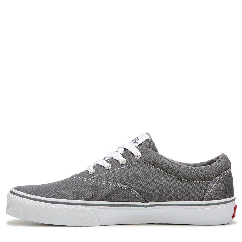 fc868210e6a7 Vans Kids  Doheny Low Top Sneaker Pre Grade School Shoes (Grey White)