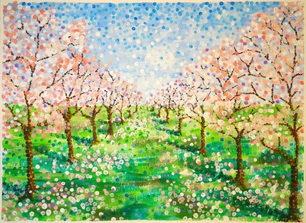 Beautiful Scenery Drawing For Class 8 Watercolor Scenery