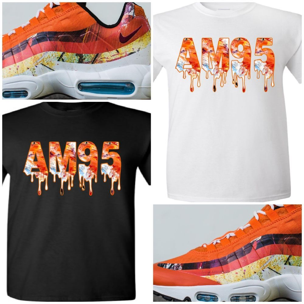 timeless design 9859f 56acc EXCLUSIVE TEE T-SHIRT TO MATCH THE DAVE WHITE x NIKE AIR MAX 95 ALBION PACK-FOX   COPEMCUSTOMS  GraphicTee